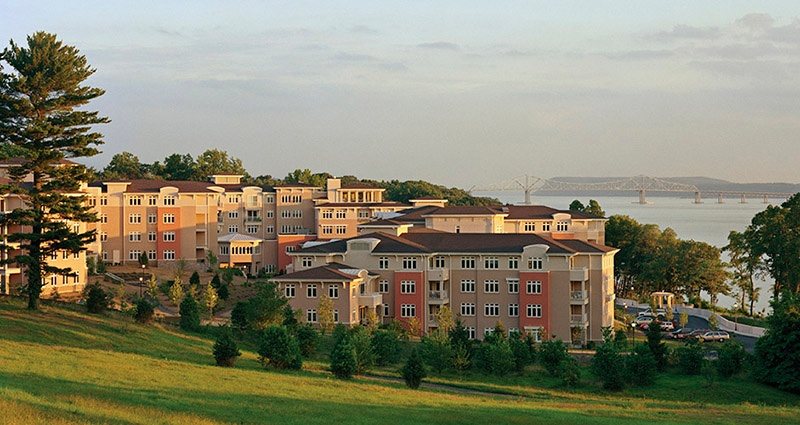 view of the buildings with health and wellness focus in a resident-driven lifestyle