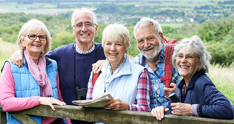 travel with friends and enjoy a retirement filled with fun